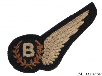 Royal Canadian Air Force (RCAF) Bombadier's Wing