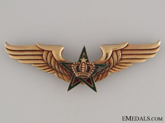 Royal Moroccan Air Force Pilot's Wings