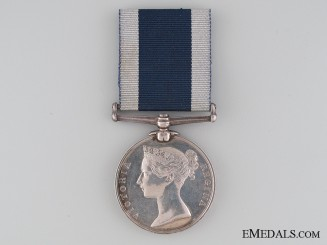 Royal Naval Long Service and Good Conduct Medal; HMS Aurora