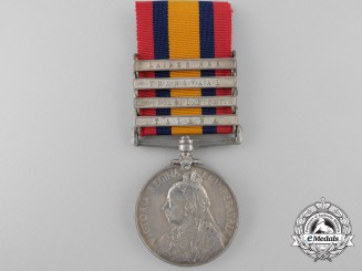 A Queen's South Africa Medal to the 23rd Field Company; Wounded