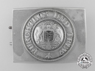 A First War Wurttemberg Army Belt Buckle
