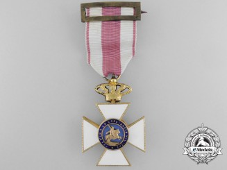 A Spanish Royal Military Order of St. Hermenegildo; Knight 1886-1931