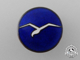 "A Civil Gliding Class ""A"" Proficiency Button-Hole Badge"