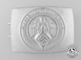 An HJ Belt Buckle by Josef Felix Söhne