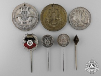 German Singing & Musicians Medals and Awards