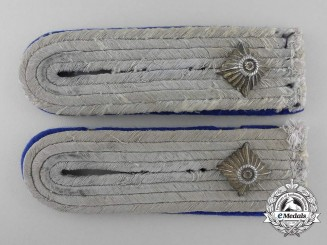 Germany, Heer. A Pair of Army Medical Staff Shoulder Boards