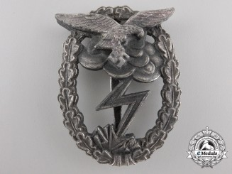 A Luftwaffe Ground Assault Badge by Rudolf Karneth & Söhne