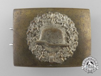 A Steel Helmet (Der Stahlhelm) Veteran's Belt Buckle
