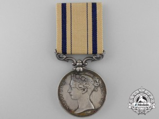 A South Africa Medal 1834-1853 to John Wines, 1st Battalion; Rifle Brigade