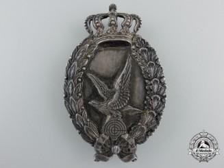 A Rare & Desirable First War Bavarian Air Gunner's Badge by Meybauer