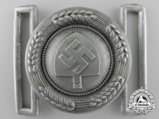 Germany. An RAD Officer's Belt Buckle by F.W. Assmann & Söhne