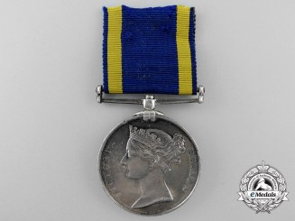 A Punjab Medal 1848-1849 to Bernard Johnstone; 32nd Regiment of Foot