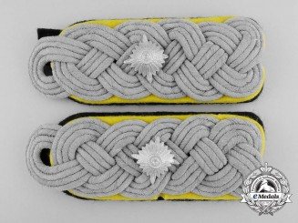 A Set of SS-Obersturmbannführer Shoulder Boards