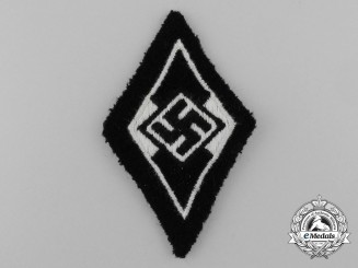 An SS Sleeve Insignia of the Former HJ Members