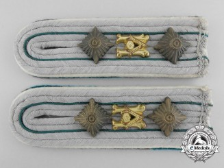 Army Administration Staff Officer Shoulder Boards