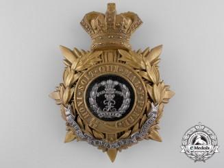 A Victorian Middlesex Regiment Helmet Plate