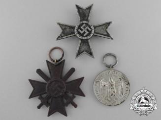 A Lot of Three Second War German Awards