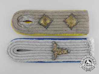 Two Army (Heer) Shoulder Boards