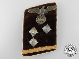 Germany, NSDAP. A Kreis Gemeinschaftsleiter Collar Tab