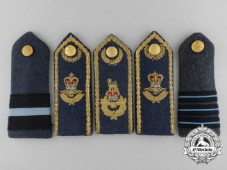 A Set of Five Royal Canadian Air Force Shoulder Boards