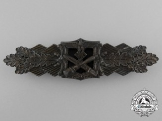 A Bronze Grade Close Combat Clasp by A.G.M.U.K., Gablonz