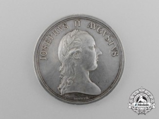 An Austrian Academy of Military Medical Surgeries Medal by Donner; circa 1800
