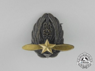 A Miniature Japanese Officer Pilot Badge