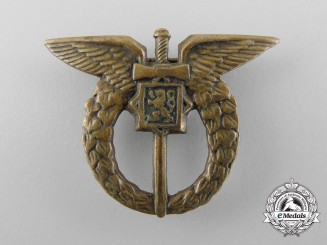 A Miniature Czechoslovakian Pilot Badge