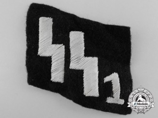 An SS1 Officer's Collar Tab