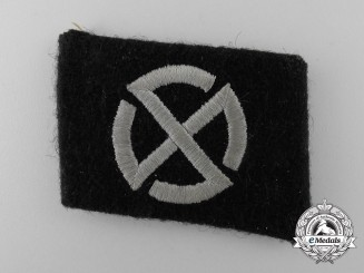Germany. A Collar Tab of the 11th Panzer Grenadier Division Nordland
