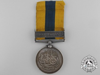 A Khedive's Sudan Medal 1896-1908 to a Native Recipient