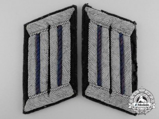 A Set of German Army Medic Collar Tabs