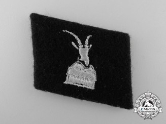 A Waffen-SS Collar Tab for Skanderbeg; 1.Waffen-Gebirgs-Division der SS (albanische Nr.1)