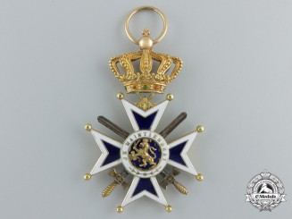 A Dutch Order of Orange-Nassau in Gold; Knight