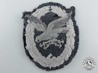 A Fine Cloth Luftwaffe Air-Gunners Badge