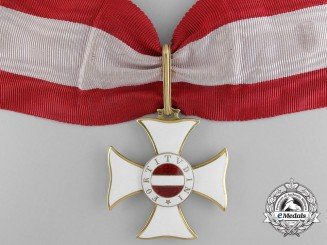The Order of Maria Theresia to Fieldmarschall Archduke Joseph August for the Isonzo Battles of the First War