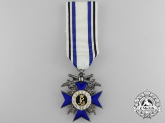 A Bavarian Military Merit Cross; 4th Class Cross with Swords by J.L.