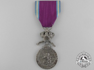A Belgian Royal Order of the Lion Medal