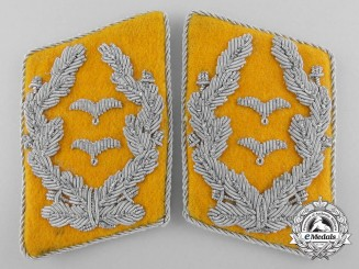 A Flight Oberstleutnant's Collar Tabs