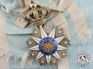 A Portuguese Order of Villa Vicosa; Grand Cross Badge