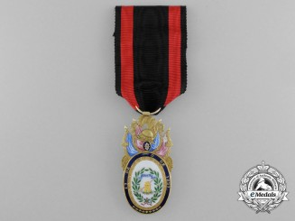 Spain, Kingdom. An Award of Distinction for the Battle of Irun, c.1837