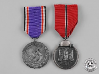 Germany, Third Reich. A Pair of Service Medals