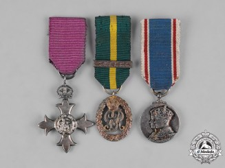 United Kingdom. Three Miniature Awards & Decorations