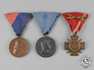 Hungary, Kingdom. Three Awards & Decorations