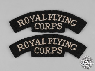 United Kingdom. Two Royal Flying Corps Shoulder Flashes