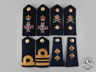 Canada. A Lot of Thirty-Eight Army, RCAF, RCN, RCA Insignia