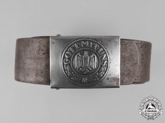 Germany, Heer. A Belt with Buckle, by Gustav Brehmer