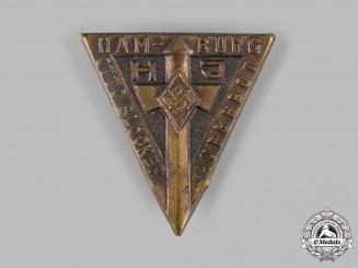 Germany, HJ. A HJ Hamburg Otto Blöcker Squad Member's Badge