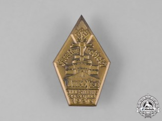 Germany, HJ. A 1936 HJ Nordsee Sports Camp Badge