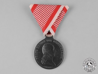 Austria, Empire. A Bravery Medal, II Class Silver Grade, Franz I, c.1820